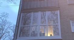 балкон в пол